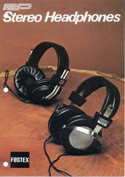 Fostex 1978 brochure cover